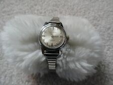 Vintage Waltham 17 Jewels Incabloc Swiss Made Wind Up Ladies Watch