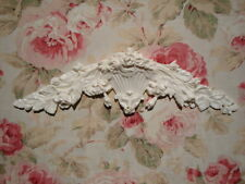 Roses & Leaves Large Furniture Appliques Architectural Pediment