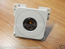 MOTORHOME CARAVAN MARINE 12V 10A SQUARE SOCKET LIGHT GREY CBE