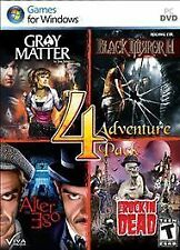 Adventure 4 Pack - Gray Matter, Alter Ego, Black Mirror II 2, Rockin' Dead (PC)