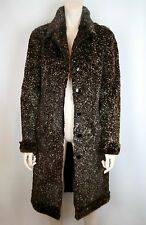 CHANEL SHEARED LAPIN RABBIT FUR FULL LENGTH COAT JACKET, SILK LINING, NWT $7945