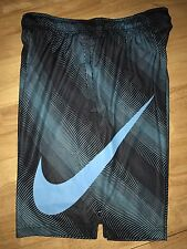 NIKE DRI-FIT FLY SONIC Training Shorts Mens Large Blue/Black NWT Retails $40