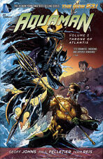AQUAMAN VOL #3 HARDCOVER THRONE OF ATLANTIS DC Comics #15-17 HC The New 52