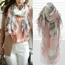 Fashion Women Long Cotton Scarf Wrap Ladies Shawl Girls Large Silk Scarves New T