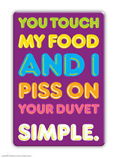 Brainbox Candy rude purple fridge magnet funny joke cheap gift birthday present