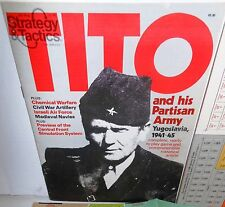 BOARD GAME + Magazine S&T # 81 Tito & his Partisan Army op 1980 UNP Complete