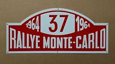 1964 Rallye Monte-Carlo 37 MINI - Tin Metal Wall Sign