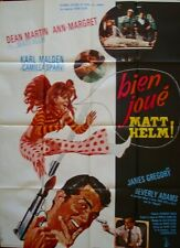 MURDERERS' ROW French Grande movie poster 47x63 ANN-MARGRET DEAN MARTIN McGINNIS