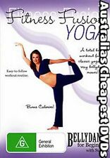 Fitness Fusion, Belly Dance Yoga DVD NEW, FREE POSTAGE IN AUSTRALIA  REGION 4