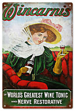 Wincarnis The World's Greatest Wine Tonic Advertisement Sign