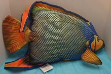 Angel Fish Pillow By Salamander Graphics