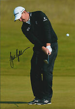 Stephen GALLACHER SIGNED Autograph Golf Photo AFTAL COA Nordea Golf Masters RARE