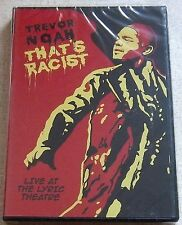 TREVOR NOAH That's Racist Region 2 SOUTH AFRICA DOES NOT PLAY IN USA DVD PLAYERS