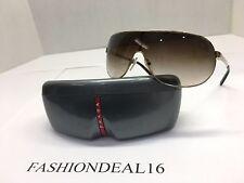 New Authentic Prada Gold SPS60N ZVN-6S1 Sunglasses