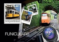 Mozambique 2014 Funiculars Trolleys Trams Camera S/S MOZ14422
