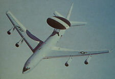 After The Battle Boeing E-3 Sentry United States Air Force Postcard
