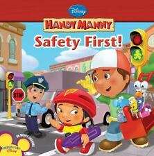 Safety First! (Handy Manny (8x8))-ExLibrary