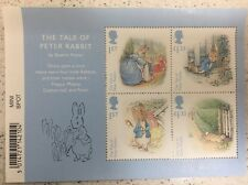 2016 GB Beatrix Potter The Tale Of Peter Rabbit Mini Sheet Collectors Item
