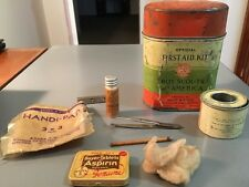 Vintage Boy Scouts Of America Official First Aid Kit w/Original Contents