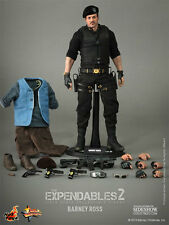 "Barney Ross Sylvester Stallone The Expendables 2 12"" Figur MMS194 Hot Toys"