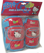Hello Kitty Knee / Elbow Protecter Pads - Bike, Scooter Protection Kids