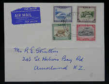 Niue 1950 Airmail Cover 1d, 2d, 3d & 4d to St Helens Bay Rd, Auckland,  NZ