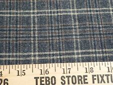 Unusual Wool-Blend Plaid from Italy - Perfect for Men's or Women's Wear !