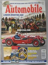 The Automobile 01/2007 featuring Bentley Speed Six, Napier, AC Six
