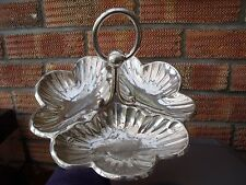 Art Nouveau Silver Plated Trefoil Dish ~ Serving Dish