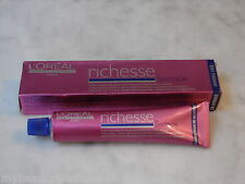 1.8 oz. L'Oreal Richesse Saffron Mahogany Creme Hair Color. Demi-Permanent.