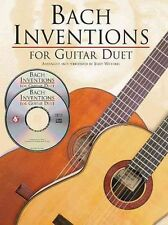 JS Bach: Inventions for Guitar Duet, Acceptable, , Book