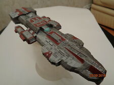 Stargate Atlantis Ancient cruiser. Painted. Assembled.