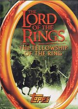 LORD OF THE RINGS FELLOWSHIP OF THE RING 2001 TOPPS TRADING CARD ALBUM BINDER