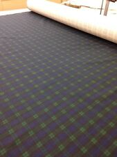 Blackwatch StyleTartan, printed cotton fabric Upholstery,Dog coats, Burns Night