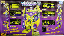 Transformers Takara Tomy Comic Con  Encore 20A Construction Devastator TF20A set