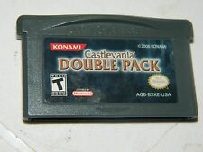 Castlevania Double Pack (Nintendo Game Boy Advance) GBA Authentic