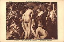 BF38845 j jordanes allegory of prolixity   painting art postcard