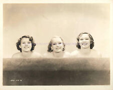 """1934 PHOTO THREE BEAUTIFUL ACTRESSES IN """"HOLLYWOOD PARTY"""" A-HPAR"""