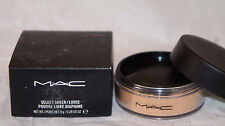 NIB MAC Select Sheer/Loose Powder - full size -- NC20 Sealed