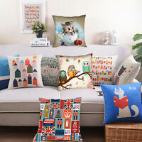 "Nice Cool Home Square Cushion Cover Decorative Sofa Throw Pillow Case 18"" x 18"""