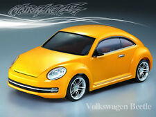 1/10 Volkswagen Beetle 195mm RC Car Transparent Body Strong Polycarbonate