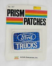 Vintage 1970's Ford Trucks Reflective Prism Patch Factory Sealed