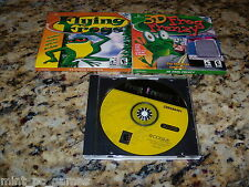 3D Frog Fenzy & Flying Frogs (PC, 2003) Game Windows (Mint)
