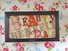NEW⭐️⭐️BEAUTY BENEFIT Cosmetic VANITY Makeup Bag⭐️⭐️