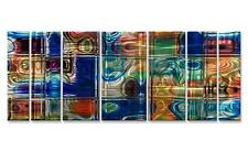Abstract Holographic 3D Effect Metal Wall Art by Ash Carl, Modern Home Décor