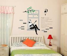 Tree Home Mural Art Window Removable Vinyl Wall Sticker Room Wall Decal SL853