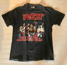 RATT 1984 TOUR T-SHIRT MOTLEY CRUE POISON GUNS N ROSES ORIGINAL SUPER Rare!