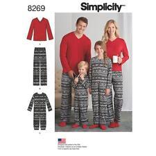 SIMPLICITY COUTURE MOTIF POUR ENFANT/POUR FILLE & POUR GARÇON COMBINAISON