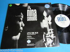 "Nina Simone / Little Girl Blue - I Loves You, Porgy - For All We Know - 12"" Maxi"
