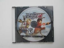 Time Crisis 4 (Sony PlayStation 3, 2007) Disc Only--Untested (NTSC)